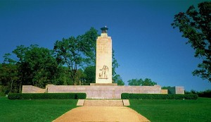 The Eternal Light Peace Memorial in Gettysburg, Pa., was dedicated on July 3, 1938. (Wikimedia Commons)