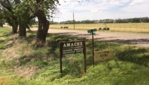 """Camp Amache, located outside tiny Granada, Colo., was a """"relocation"""" camp for Japanese-Americans that operated from 1942-1945 during World War II. (Marrton Dormish)"""