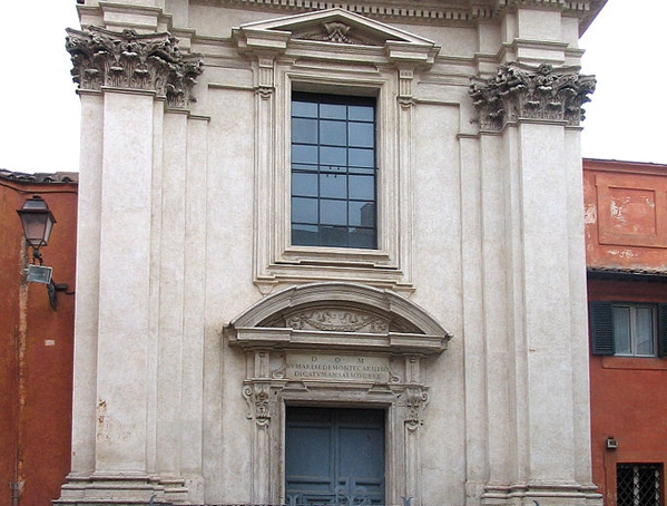 The unassuming Church of Sant'Egidio in Rome, Italy, namesake of the worldwide Community of Sant'Egidio. (Wikimedia Commons)