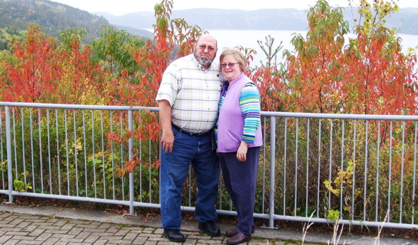 Sherry & Mike Bethurum, former foster parents.