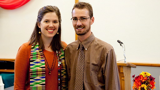 Jennifer and Nathan Soule-Hill, co-pastors of Family of Christ Presbyterian Church in Greeley, Colo. (Photo courtesy of the Soule-Hills)